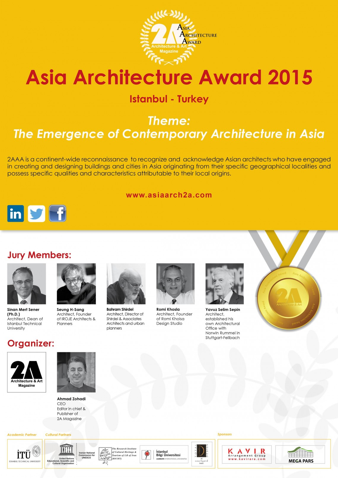 2A ASIA ARCHITECTURE AWARD & CONFERENCE & EXHIBITION